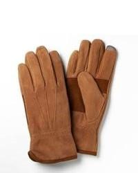 Allen Edmonds Suede Iphone Gloves 12331brn Brown X Large