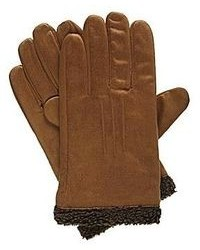 Isotoner Smartouch Brushed Microfiber Gloves