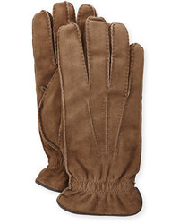Suede cashmere lined gloves medium 713206