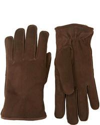 Barneys New York Suede Gloves