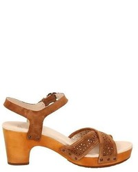 062ac6473ff ... UGG Australia Luella Sandals Chocolateches Tnut Suede Heeled Shoes  Choose Size