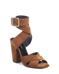 Saint Laurent Jodie Ankle Wrap Sandal