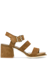 Tod's Strappy Block Heel Sandals