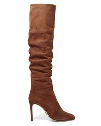 Prada 100 Suede Knee Boots