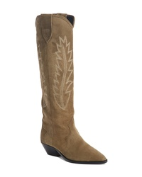 Isabel Marant Denzy Pull On Western Boot