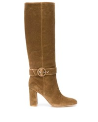 Gianvito Rossi Knee Length Buckle Boots