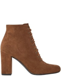 90mm babies lace up suede ankle boots medium 754428