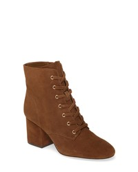 J.Crew Lace Up Block Heel Bootie