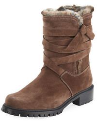Snowfield faux fur velour boot medium 5146343