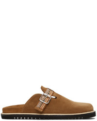 Paul Smith Brown Suede Mesa Loafers