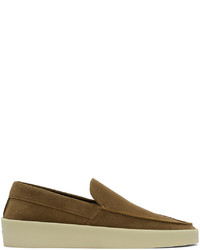 Fear Of God Brown Suede The Loafer Loafers
