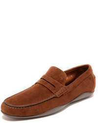 Harrys of london basel suede penny loafer medium 699809