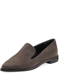Runatab suede pointed toe loafer medium 3729483