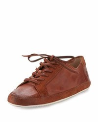 Frye Dean Artisan Low Top Sneaker Whiskey