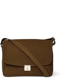Suede messenger bag medium 25103