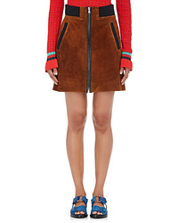 3.1 Phillip Lim Suede Miniskirt