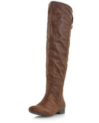 Dorothy Perkins Head Over Heels By Dune Tiffy Over The Knee Boots