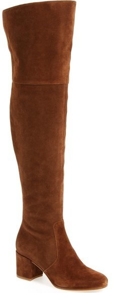 19263735b9e ... Brown Suede Over The Knee Boots Via Spiga Finlay Over The Knee Boot ...