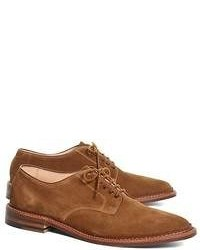 Brooks Brothers Suede Oxford Bluchers