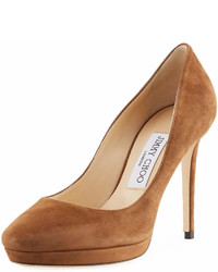 Jimmy Choo Hope Suede 100mm Pump
