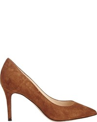 Barneys New York Nataly Point Toe Pumps Brown