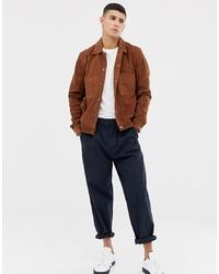 Selected Homme Nubuck Leather Jacket