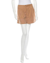 Suede shorts medium 101383
