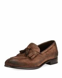 Il moccasino suede fringe loafer saddle medium 3735999