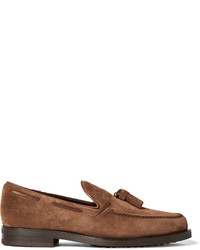 Suede tasselled loafers medium 760450