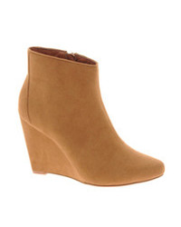 Asos Awake Wedge Ankle Boots