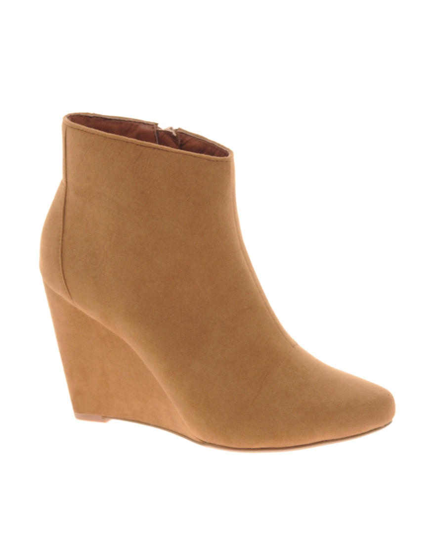 asos awake wedge ankle boots where to buy how to wear