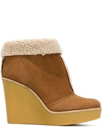 Chloé Darcy Wedge Boots