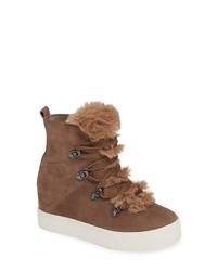 JSLIDES Whitney Faux High Top Sneaker