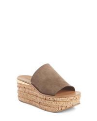 Chloé Cork Platform Sandal