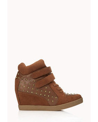 Forever 21 High Voltage Wedge Sneakers