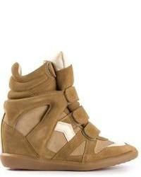 Isabel marant bekett hi top sneakers medium 59423