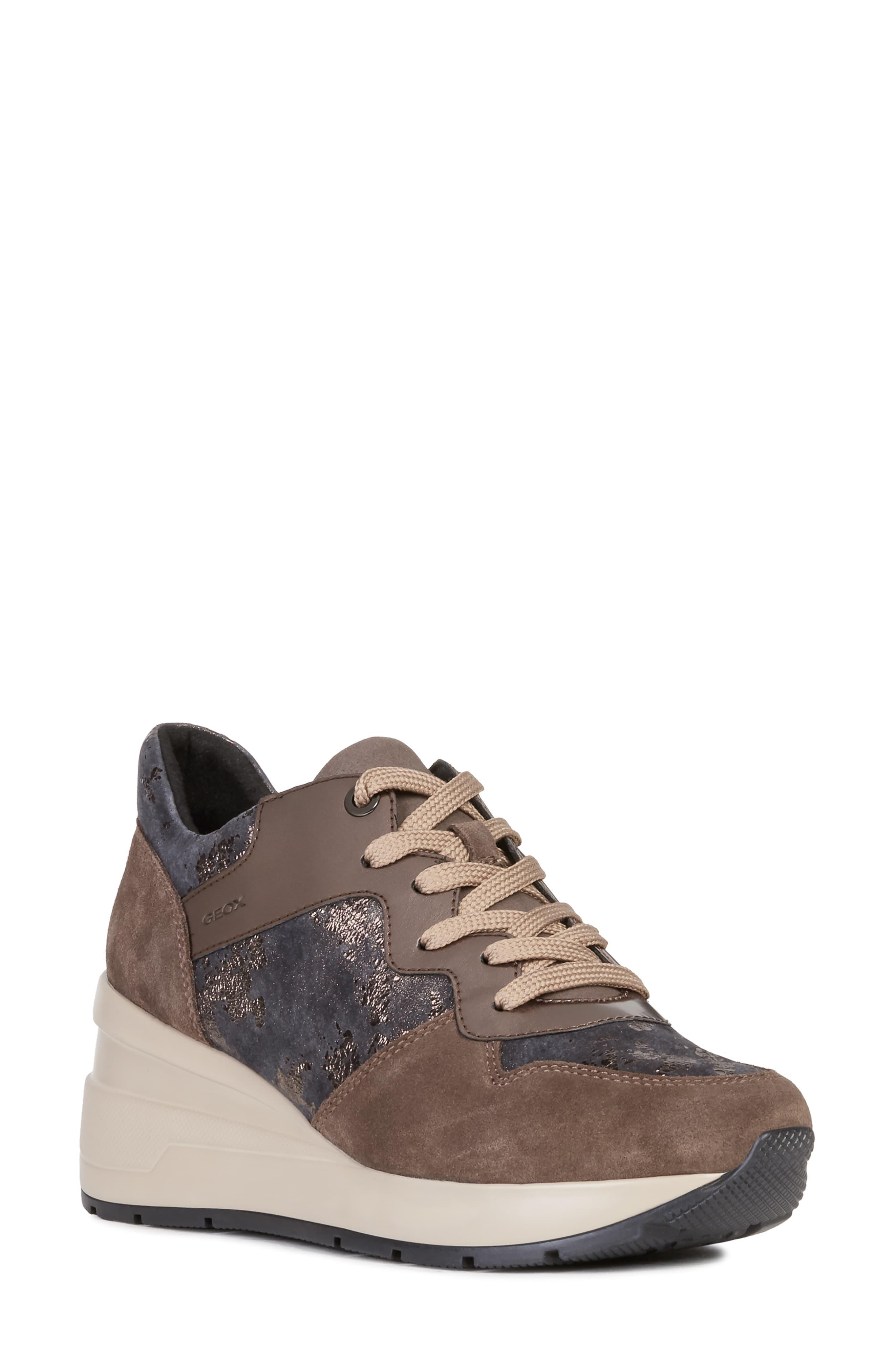 Geox Zosma Wedge Sneaker, $119