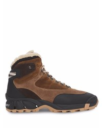 Burberry Tor Shearling Lined Suede Boots