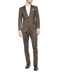Ralph Lauren Black Label Anthony Pindot Two Piece Suit Brown