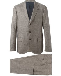 Brunello Cucinelli Prince Of Wales Check Suit