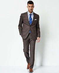 Hugo Boss Grand Central Two Piece Suit Brown | Where to buy & how ...