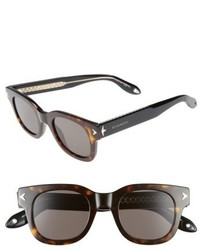 Givenchy 47mm Gradient Sunglasses Black Crystal