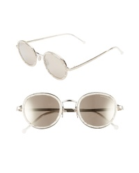CUTLER AND GROSS 48mm Polarized Round Sunglasses