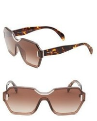 Prada 48mm Tortoiseshell Sunglasses