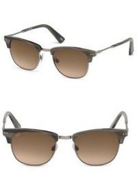 Web 51mm Square Horn Effect Sunglasses