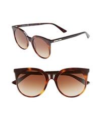 McQ Alexander McQueen 52mm Cat Eye Sunglasses