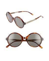Bottega Veneta 52mm Round Sunglasses