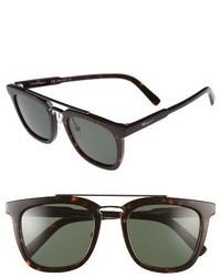 Salvatore Ferragamo 52mm Sunglasses Tortoise