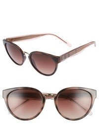 Burberry 53mm Gradient Cat Eye Sunglasses