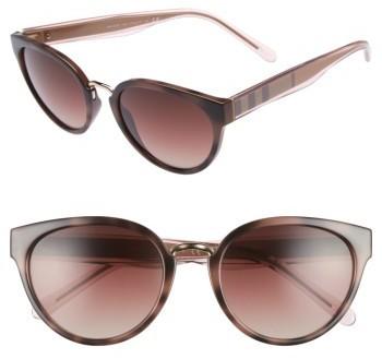 89f6d618fcb ... Burberry 53mm Gradient Cat Eye Sunglasses ...
